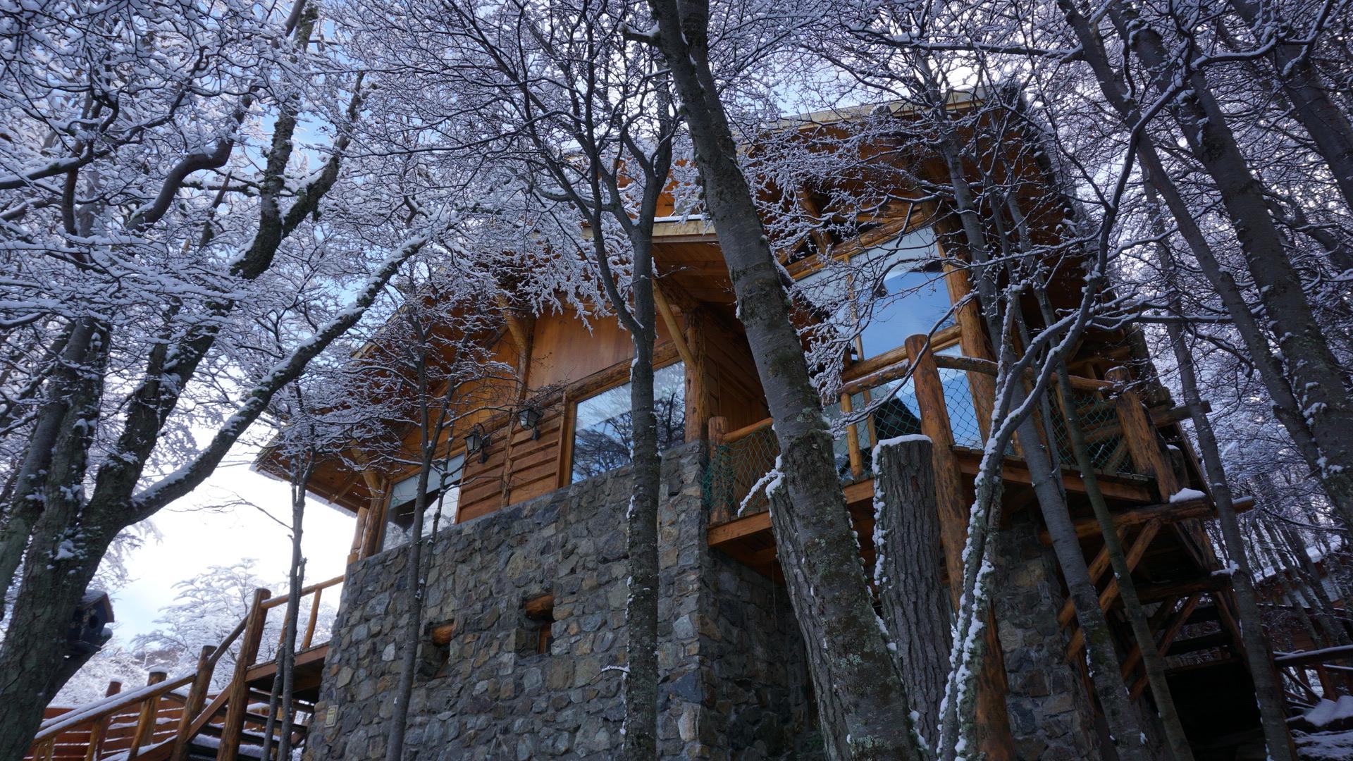 El complejo en invierno!